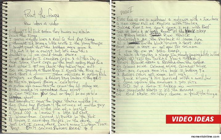 Encuentran manuscritos y música inédita de Tupac Shakur2